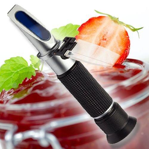 Refraktometer für Marmelade/Konfitüre/Zucker/Brix/Wassergehalt/Dichte R03