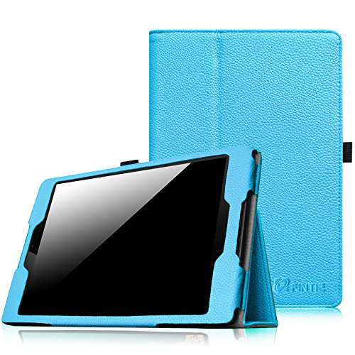 Fintie HTC Nexus 9 Folio Hülle Case - Slim Fit Kunstleder Schutzhülle Tasche Etui Cover mit Standfunktion und [Auto Sleep / Wake] Funktion for HTC Nexus 9 (8,9 Zoll) Tablet-PC by Google, Blau