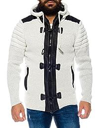 Suchergebnis auf Amazon.de für  weiße strickjacke - Wolle   Herren ... cf2f24bdb1