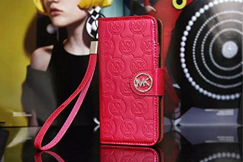 Fashion Luxury leather Phone case For Iphone6 (4.7) Flip Case With Wallet Function - iphone case with card holder belt clip color3.7 color3.7