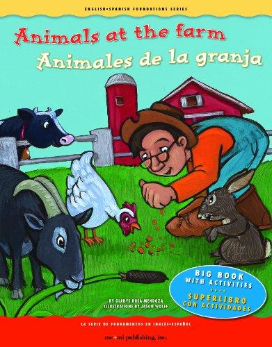 Animals at the Farm/Animales de La Granja (English-spanish Foundations Series) por Gladys Rosa-Mendoza
