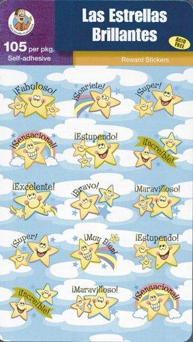 Las Estrellas Brillantes (Reward Stickers)