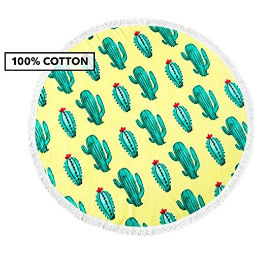 Toalla de playa 100% Algodón (Cactus)