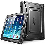 Apple iPad 4 / 3 / 2 Hülle , SUPCASE Heavy Duty [Unicorn Beetle PRO Series] Protective Case / Schutzhülle mit eingebautem Displayschutz + Impact Resistant Bumper (Schwarz)