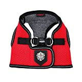 Puppia PLRD-HB9345 Geschirr Thermal Soft Vest Harness, XXL, rot