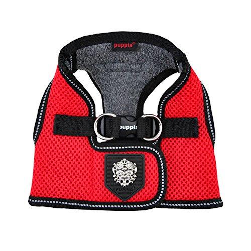 Puppia PLRD-HB9345 Geschirr Thermal Soft Vest Harness, XL, rot -