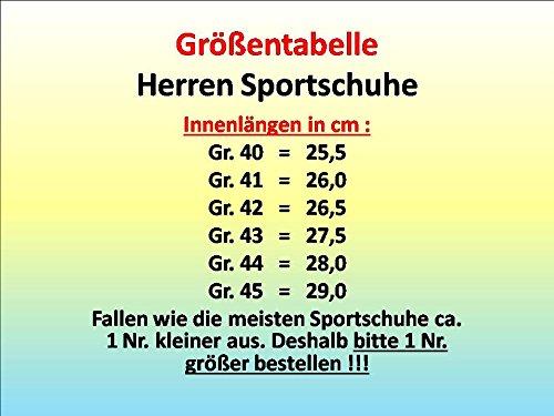 Sneaker Gibra, Molto Leggera E Confortevole, Blu / Verde Neon, Taglia 40-45 Blu / Verde Neon