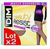 Dim Beauty Resist silhouette fine, Collants, Lot de 2, Femme