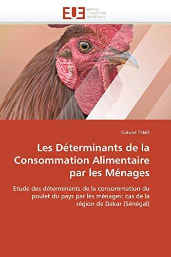 Les déterminants de la consommation alimentaire par les ménages (OMN.UNIV.EUROP.) por TENO-G