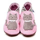 Inch Blue Krabbelschuhe Meeow Baby Pink/Grey, Extra Large