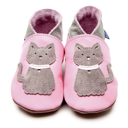 Inch Blue Meeow Baby Pink Leather Baby Soft Soles Baby Pink
