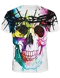 Impression 3D Hommes T-shirts,Fami Fashion Arder stamp shirt à manches courtes