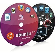 Ubuntu 16.04 and Kali Linux 2018.1 64 Bit Live Bootable Installation DVD