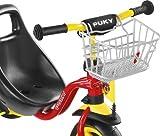 Puky 9119 LKDR Lenkerkorb Dreirad und Roller, Silber (nicht für R07L, R2002L)