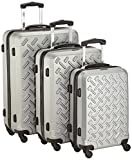 Packenger Koffer 3er-Set Steel, M/L/XL, Silber