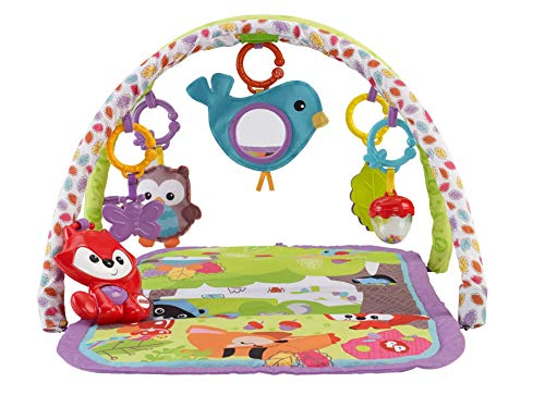 Fisher-Price - Gimnasio Musical 3 en 1 animalitos del Bosque