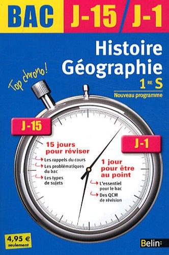 J-15 J-1 Histoire-Géographie 1ère S 2011
