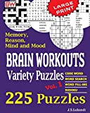 Brain Workouts Variety Puzzles: Volume 1