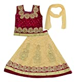 #9: Kid's Stop Girls' Synthetic Lehenga Choli