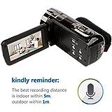 inkint 24 Mégapixels 16X Zoom Full HD Caméra Vidéo Numérique 270 Degrés de Rotation de L'écran Portable Caméra Avec Grande Mémoire