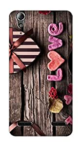 SWAG my CASE PRINTED BACK COVER FOR LENOVO A6000 PLUS Multicolor