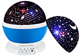 Star Lights for Bedroom, Galaxy Light Projector, Night Stars Gifts for Men Women Kids Baby Bedroom With USB Cable (Blue)