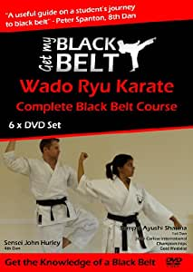 Ottenga La Mia Cintura Nera (Get My Black Belt) Wado Ryu Karate 6 x DVD Corso di Studio Familiare