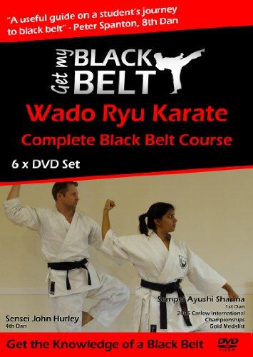 Bild von So erlange ich den Schwarzen Gürtel (Get My Black Belt) im Wado Ryu-Karate – 6 DVDs Training für Zuhause