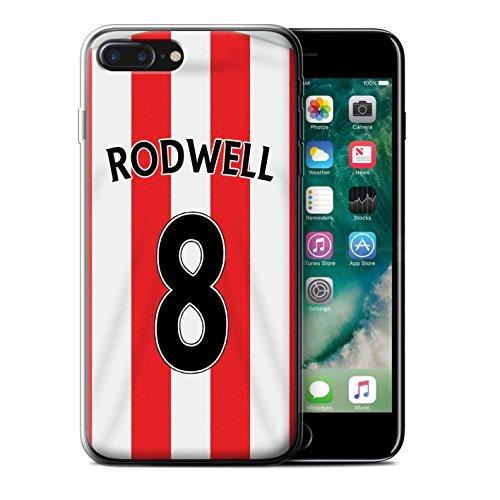 Officiel Sunderland AFC Coque / Etui Gel TPU pour Apple iPhone 7 Plus / Yedlin Design / SAFC Maillot Domicile 15/16 Collection Rodwell