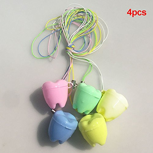 aver Halsketten Geschenk für Baby Zähne Fee Box Teeth Holder(Abgebildet) ()