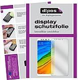 dipos I 2X Schutzfolie klar passend für Xiaomi Redmi 5 Plus Folie Bildschirmschutzfolie