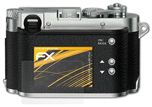 3 x atFoliX Película Protectora Minox DCC Leica M3 Plus Lámina Protectora de Pantalla - FX-Antireflex
