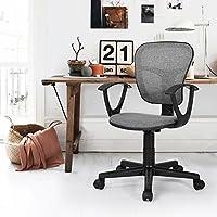 Study Chair Fanilife Office Chair Adjustable Design Swivel Kids Children Computer Seat Desk Task Chair