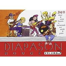 Diapason Rouge : Tome 5, Carnet de 360 chants avec accords
