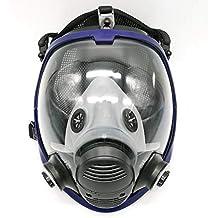 Máscara gas 6800 de cara completa, unidad facial, respirador, adecuado para aspersión de