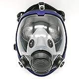 Atemschutzmaske für Lackierarbeiten, Vollmaske für Schutzanzüge