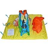 Reisebett Kinderbett Klappbett Farb- und Musterwahl inkl. Matratze, Tasche & Spielringe - 4