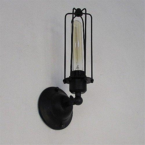 YU-K Chambre Simple Vintage wall lamp creative living salle à manger chambre loft rétro éclairage d'allée lampes seule la tête de lampe, φ 120mm, hauteur 320mm