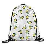 Bag shrots Abstract - Mochila con diseño de Cabeza de tucán con cordón