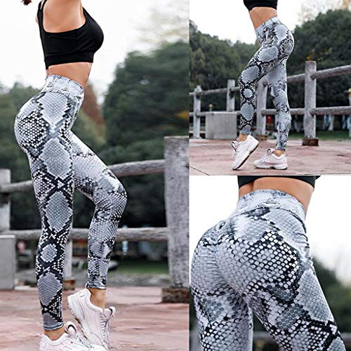 Modaworld _Leggins Mujer Mallas Deportivas Pantalones de Yoga...