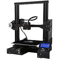 Creality Ender-3 Impresora 3D DIY 3D Printer con Kits Reprap I3 Upgrade MK10 Extrusora Tamaño de Impresión 220 * 220 * 250mm (Negro)