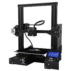 Idea Regalo - Comgrow Creality 3D Ender-3 Stampante 3D Alluminio DIY con Resume Print Formato di Stampa 220 * 220 * 250mm