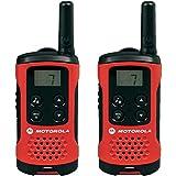 Talkie-walkie 2 voies Motorola Talker T40 Radio - Noir / Rouge (Lot de 2)