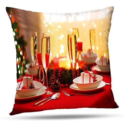 Bensontop cuscino decorativo cuscino quadrato cuscino quadrato 18