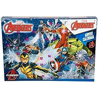 BARGAINS-GALORE Marvel Avengers Calendario DE ADVIENTO Sorpresa Navidad Navidad para NIÑOS DIVERSIÓN Actividad Puzzle
