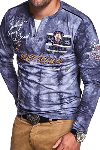 MT Styles 2in1 Longsleeve P-EXPERIENCE T-Shirt R-0837 Grau