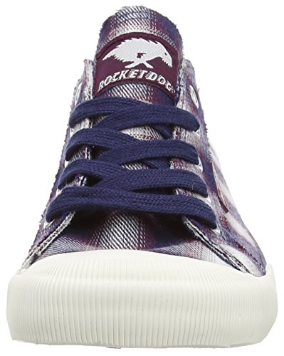 Rocket Dog Jazzin Lined, Baskets Basses Femme Bleu (navy Fender)