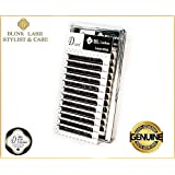 Blink Lash Stylist FLAT MIX eyelashes for eyelash extension D curl- thickness- 0,15 mm , length- 7-14 mm