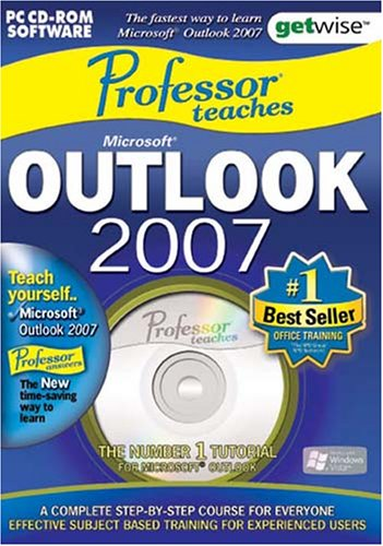 Greenstreet Professor Teaches Microsoft Outlook 2007 Training Suite (PC) Test