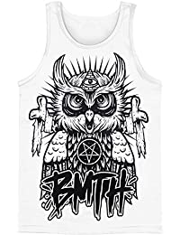 Bring Me The Horizon - Chouette Tank Top des hommes en blanc, X-Large, White
